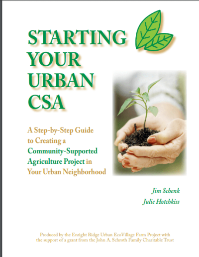 starting urban csa cover