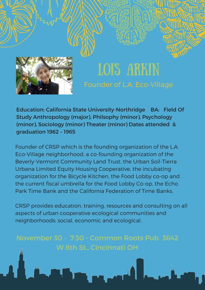 Lois Arkin Event Page